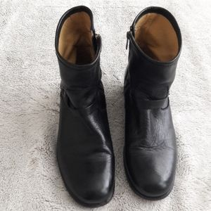 Black Frye ankle boots